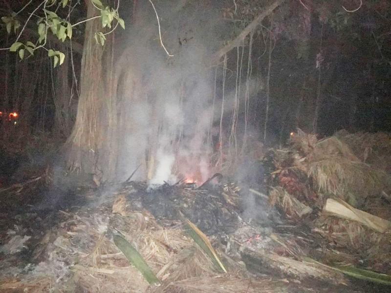 Incendio daña plantas del Parque Sinaloa