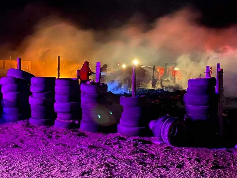 Incendio dejó 5 menores de edad muertos