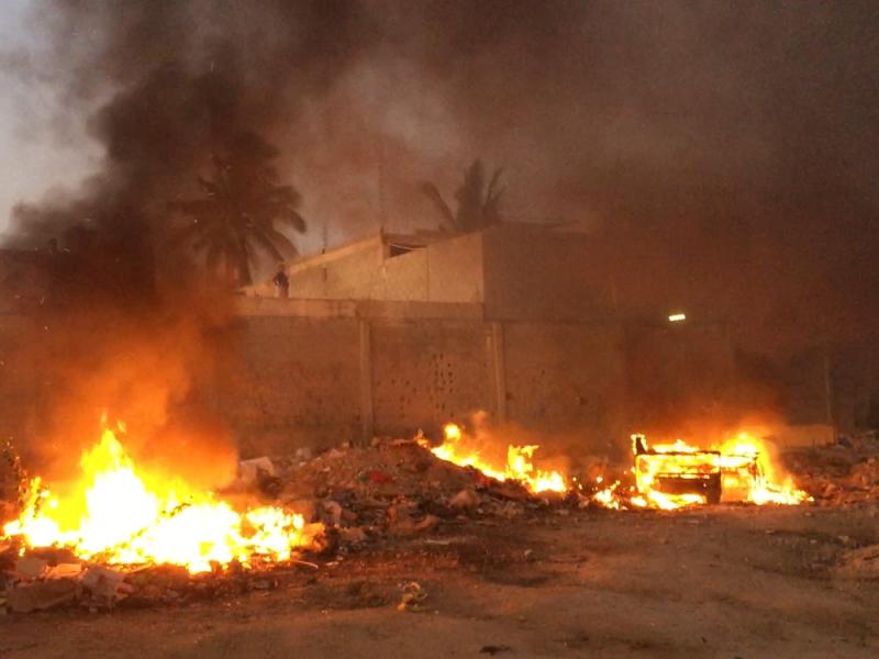 Incendio en la colonia Venados CSL
