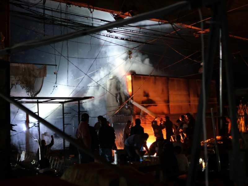 Incendio en mercado Merced deja dos muertos