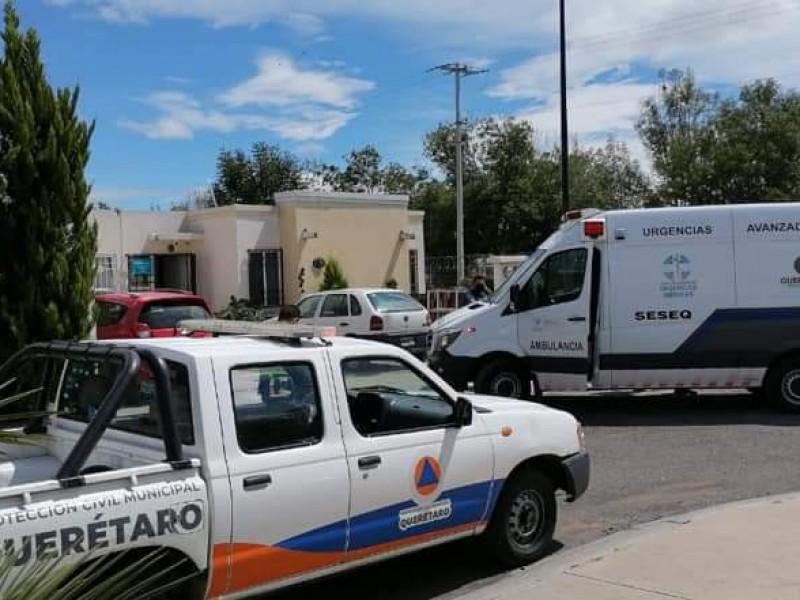 Incendio en Rancho San Pedro deja lesiones graves a masculino