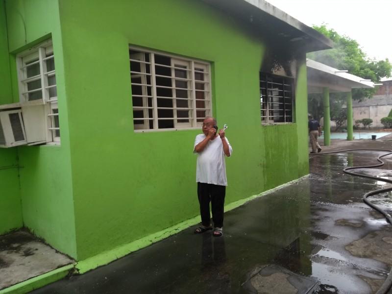 Incendio en vivienda de avenida 20 de noviembre
