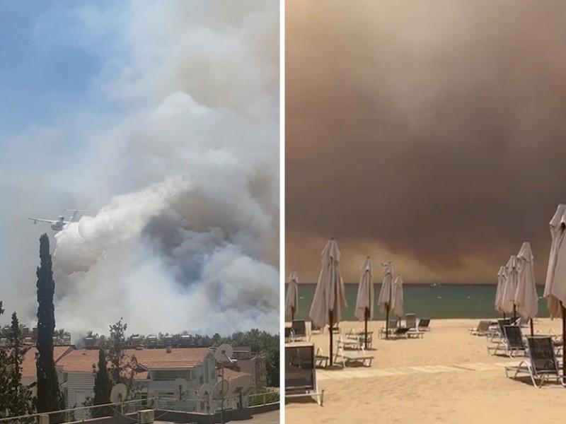 Incendio forestal amenaza Turquía y deja escenas apocalípticas