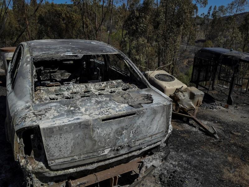 Incendios arrasan miles de hectáreas en España