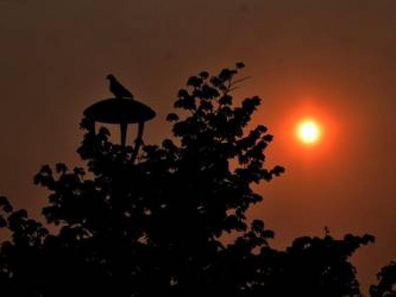 Incendios en California elevan poco contaminación del aire en Hermosillo