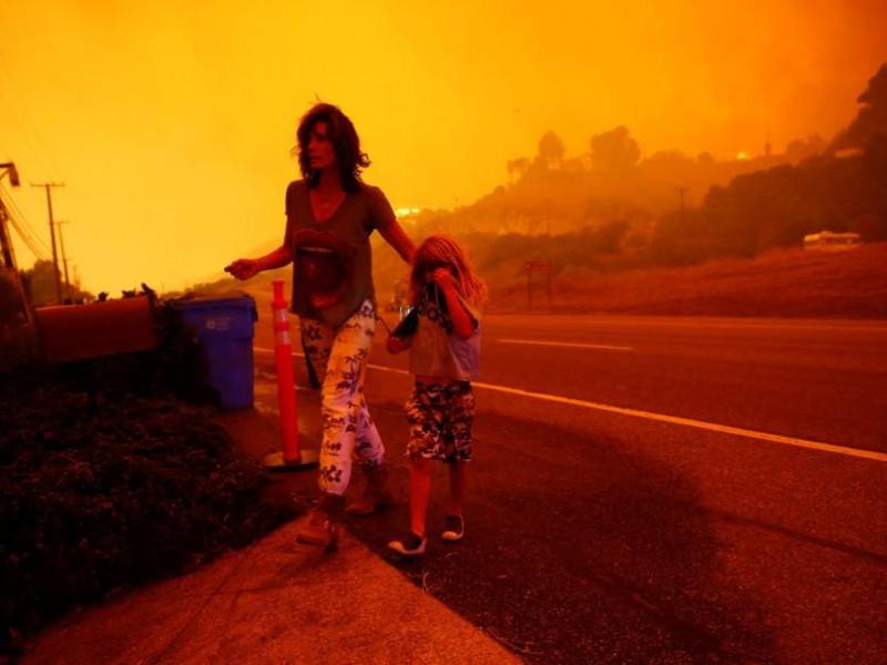Incendios en California: impresionantes cifras de la tragedia