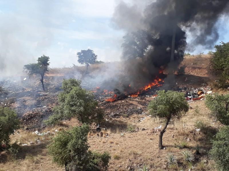 Incendios Forestales a la orden del día, Nogales....