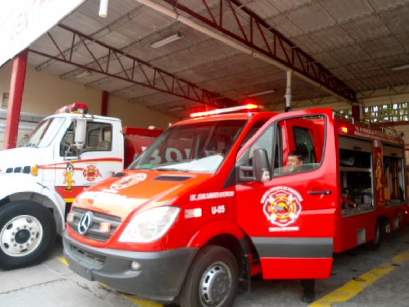 Incendios menores en la capital por pirotecnia
