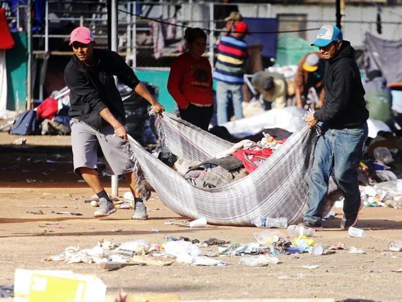 Incertidumbre sobre más de 3.000 migrantes