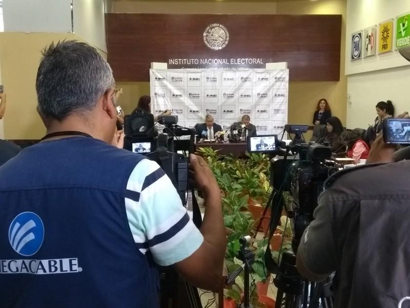 Incidentes menores en elección en Jalisco