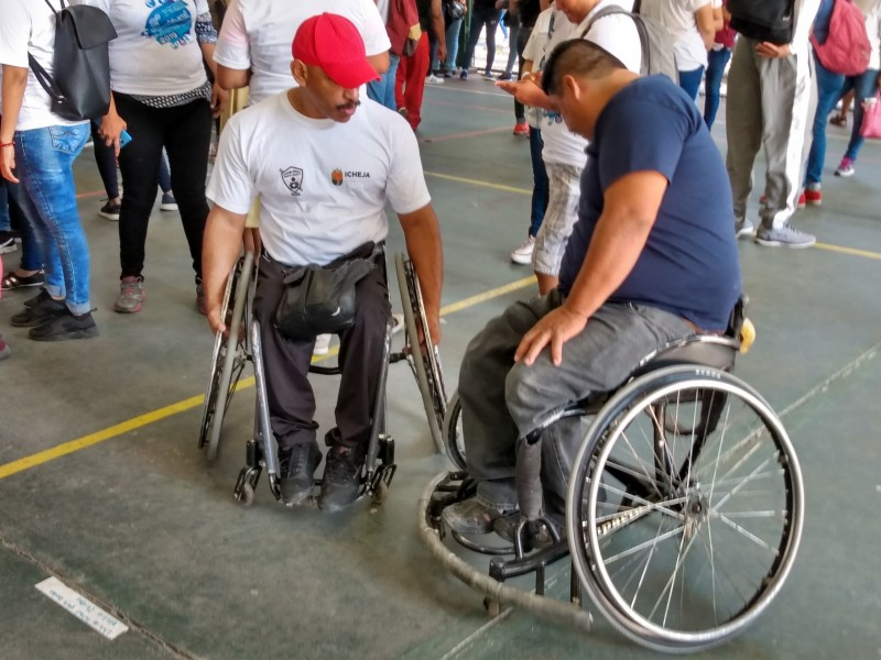 Inclusión tema pendiente para personas discapacitadas