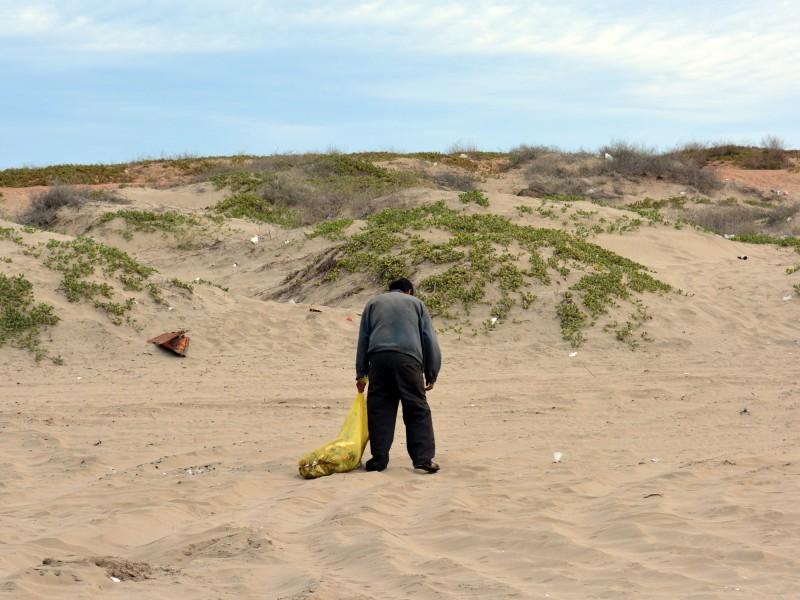 ¡Incontrolable! La contaminación en las Playas de Huatabampo