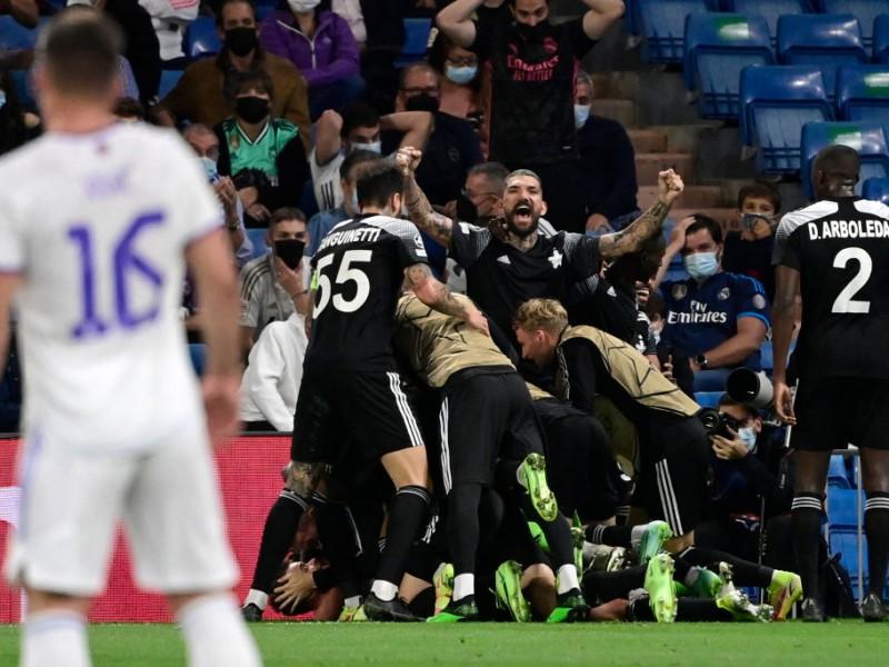 ¡INCREÍBLE! Sheriff de Moldavia vence al Real Madrid
