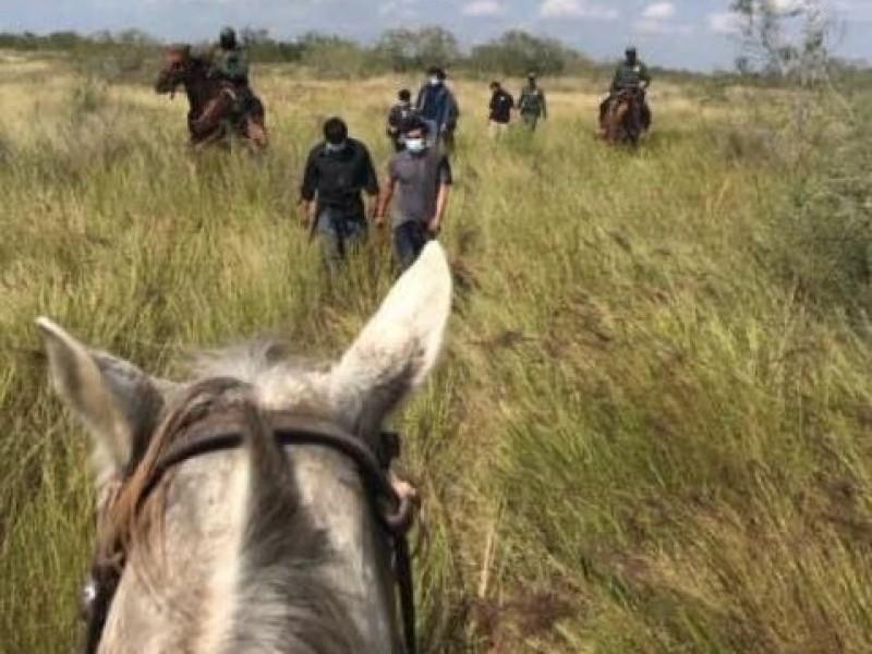 Incrementa cifra de indocumentados detenidos en frontera Estados Unidos-México