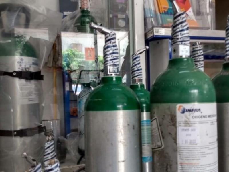 Incrementa demanda de tanques de oxígeno en Zihuatanejo