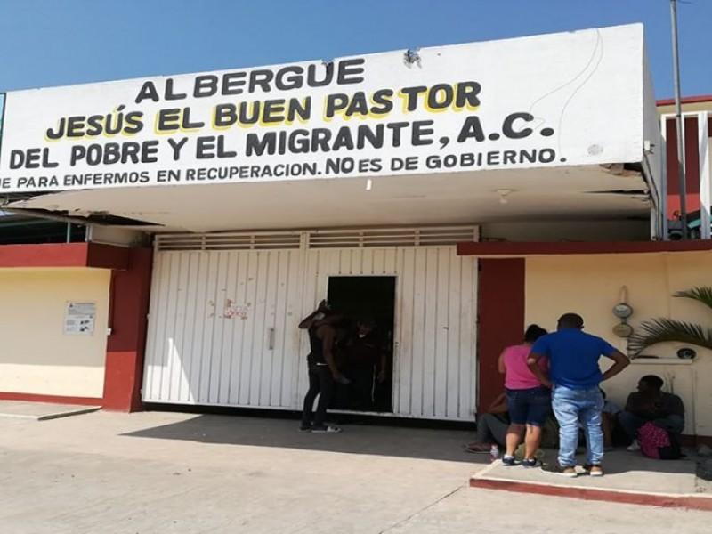 Incrementa demanda en albergues en la frontera sur