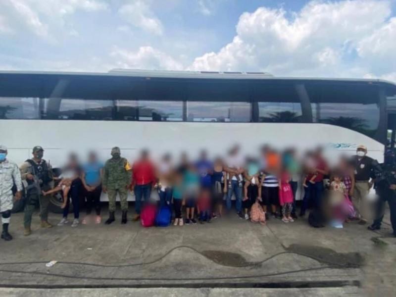 Incrementa el flujo de migrantes por Veracruz