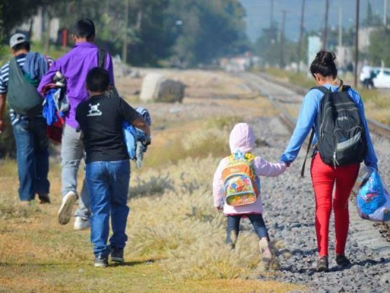 Incrementa el número de migrantes en el EdoMex
