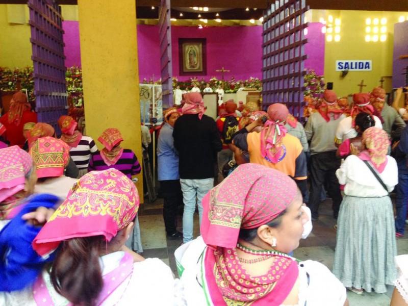 Incrementa número de feligreses a la parroquia guadalupana