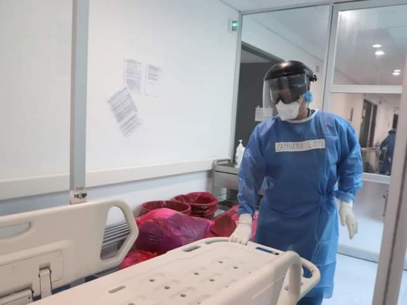 Incrementa ocupación hospitalaria por COVID-19 en Michoacán