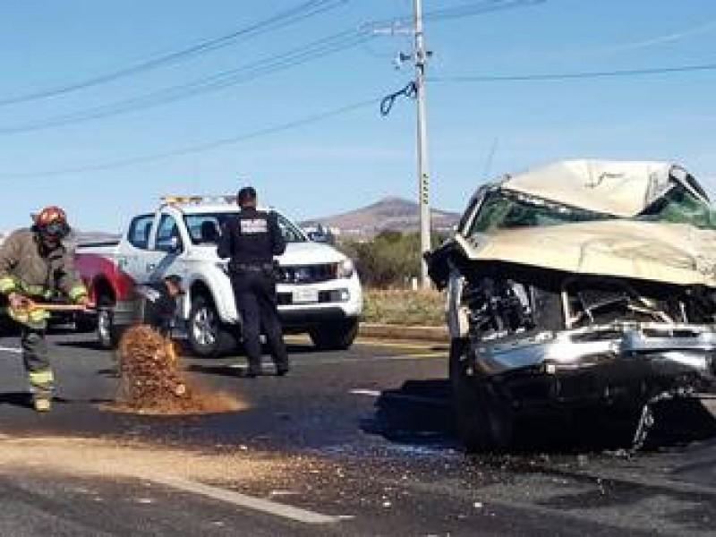Incrementa un 40% las muertes por accidentes viales en Zacatecas