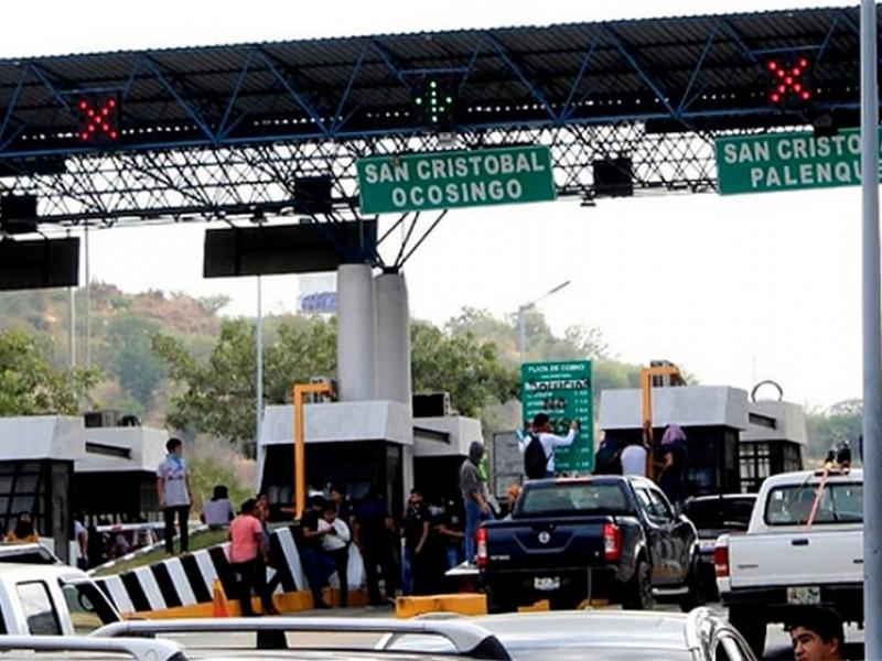 Incrementan 10 pesos a caseta de cobro Chiapa-SCLC