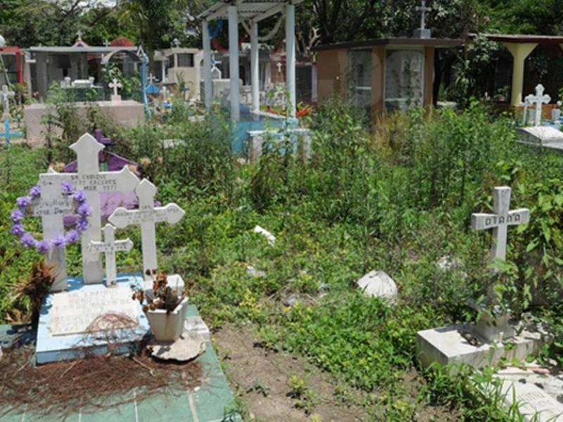 Incrementan inhumaciones en panteones de TGZ