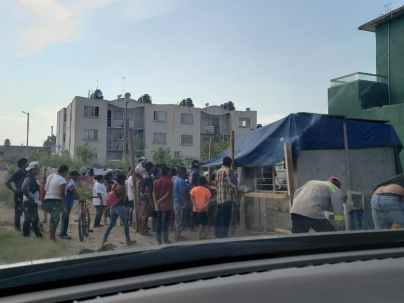 Incrementan invasiones de zonas irregulares en Veracruz