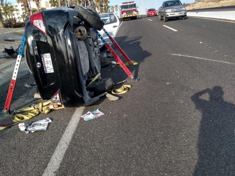 3 accidentes automovilísticos se han registrado este viernes
