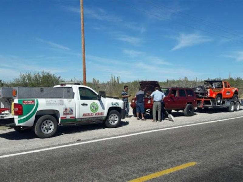 Incrementará Ángeles Verdes operativos carreteros por paso de paisanos