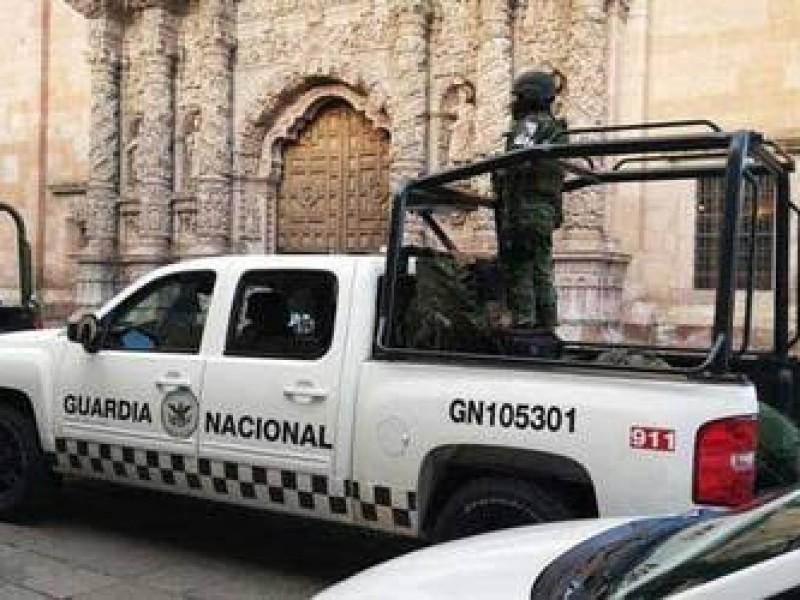 Incrementará parque vehicular de Guardia Nacional en Zacatecas