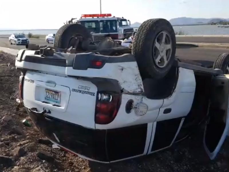 Incremento de accidentes automovilísticos en vacaciones