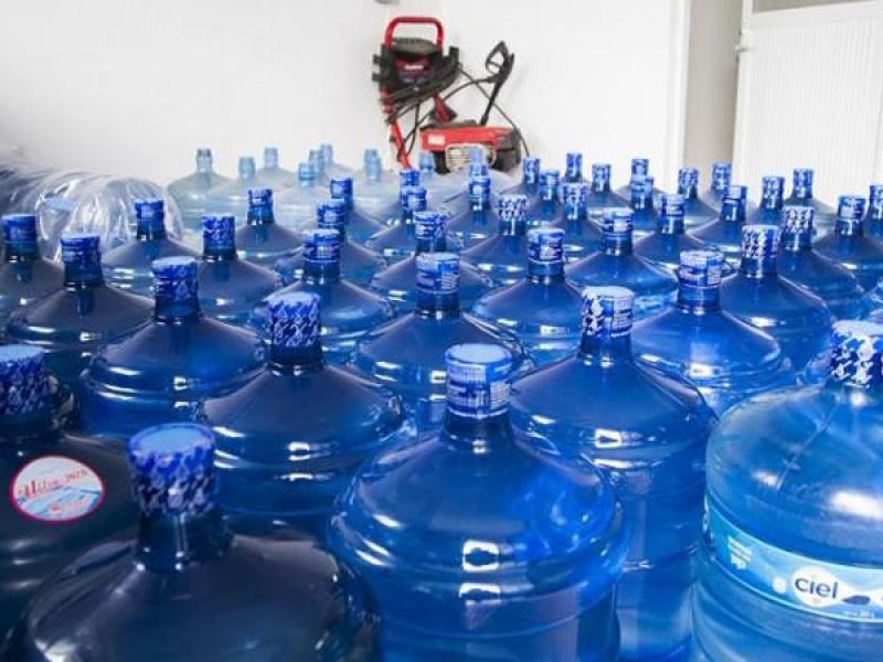 Incremento de garrafones de agua