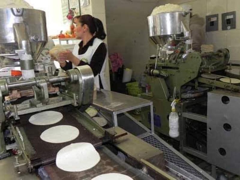Incremento del costo de la tortilla en Huixtla.