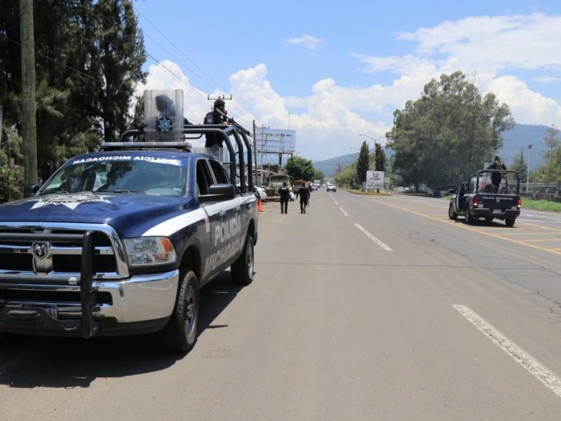 Indaga Fiscalía enfrentamiento en Uruapan; van 9 muertos
