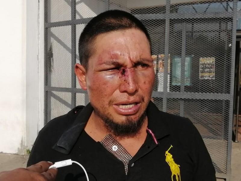 Indígenas exigen castigo a policias agresores en Tapachula