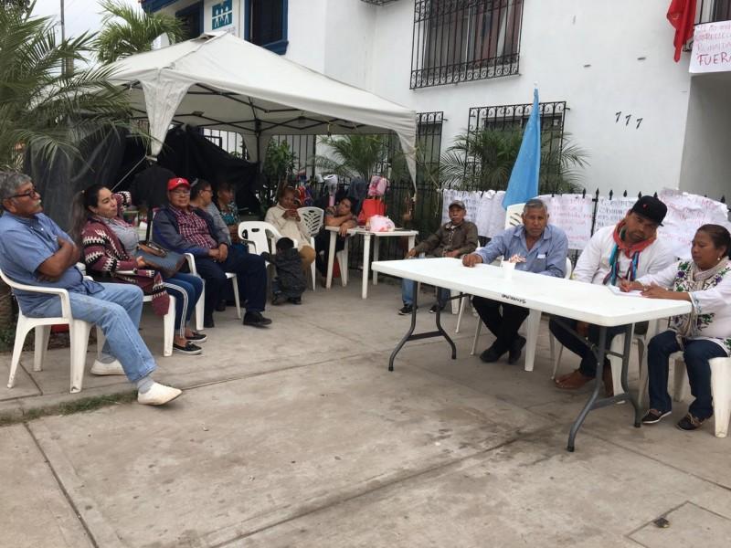 Indígenas exigen destitución de Reynalda Leyva