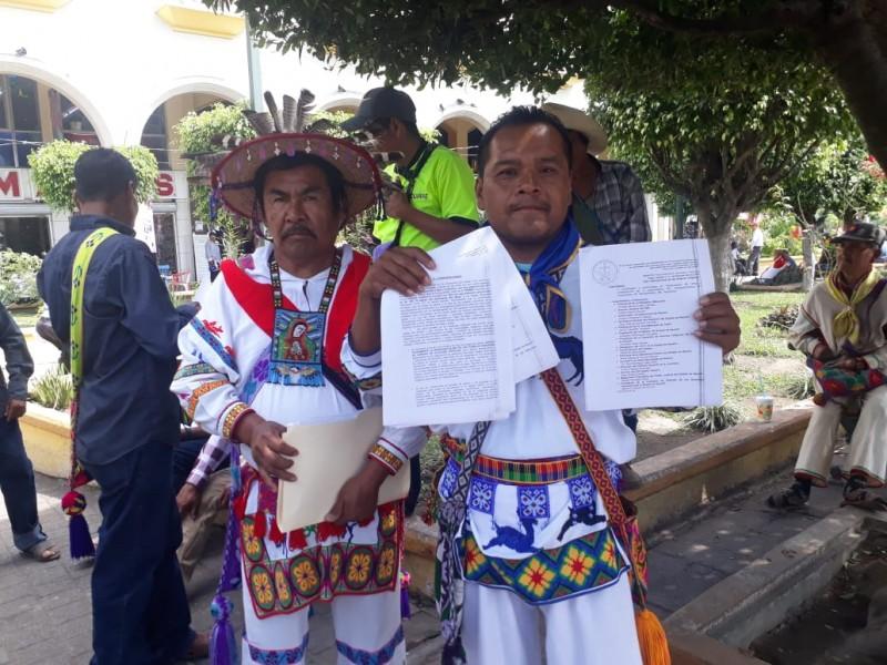 Indígenas se manifiestan por desventaja social