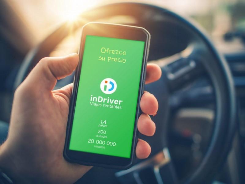 Indriver permite a sus chóferes operar sin seguro en Nayarit