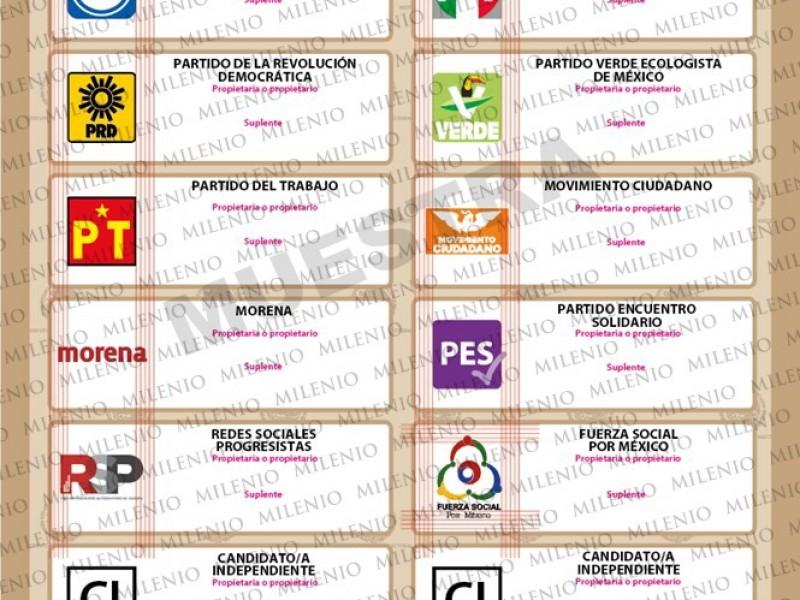 INE aprueba boleta electoral para Elecciones del 6 de junio
