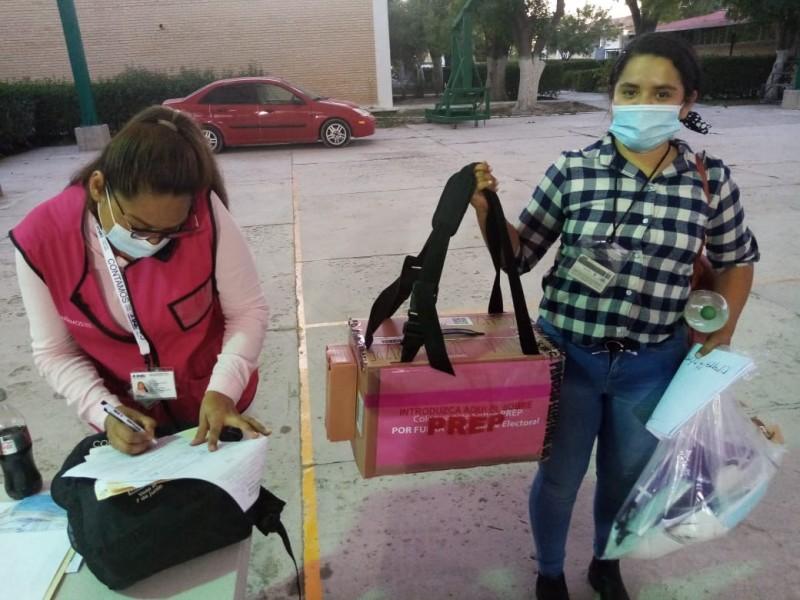 INE confirma suspensión de elección en casilla donde quemaron urna