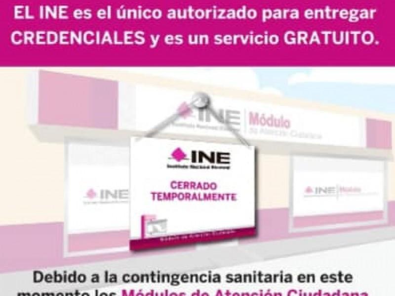 INE emitirá identificación temporal, para quienes tienen tramites pendientes