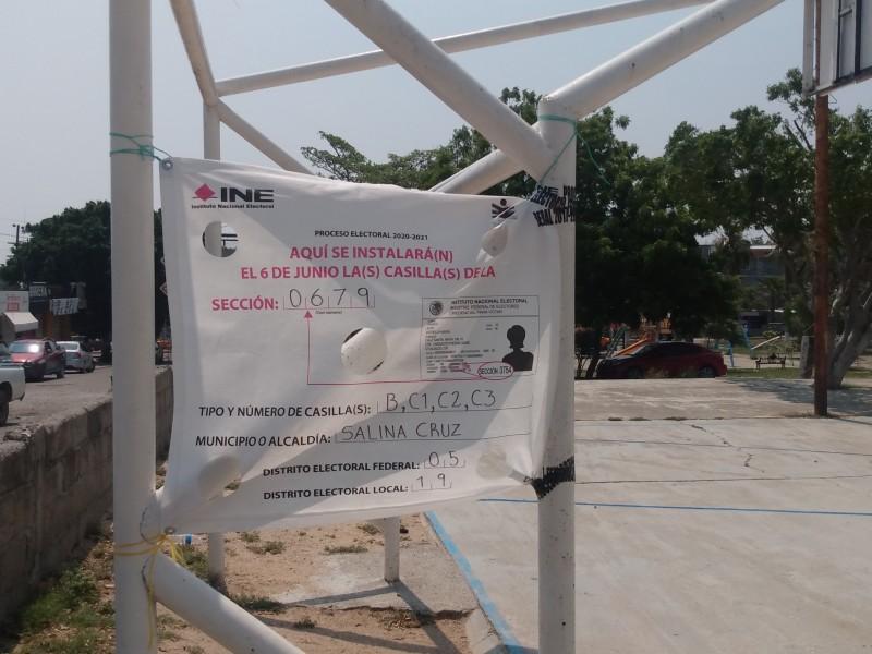 INE instalará 541 casillas en el distrito electoral federal 05
