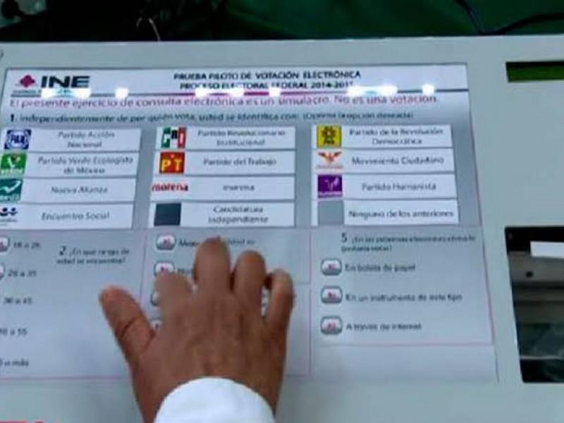 INE no aplicara voto electrónico durante comicios del 2021