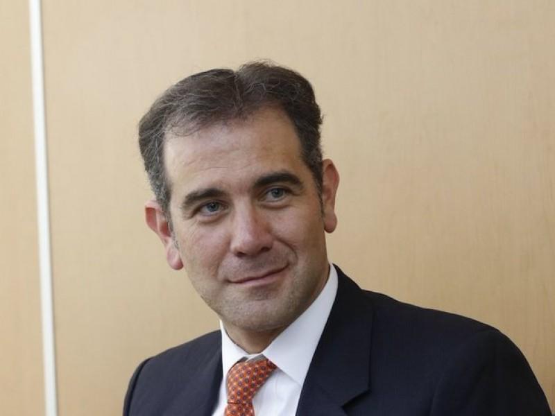 INE no se dejará amedrentar, asegura Lorenzo Córdova