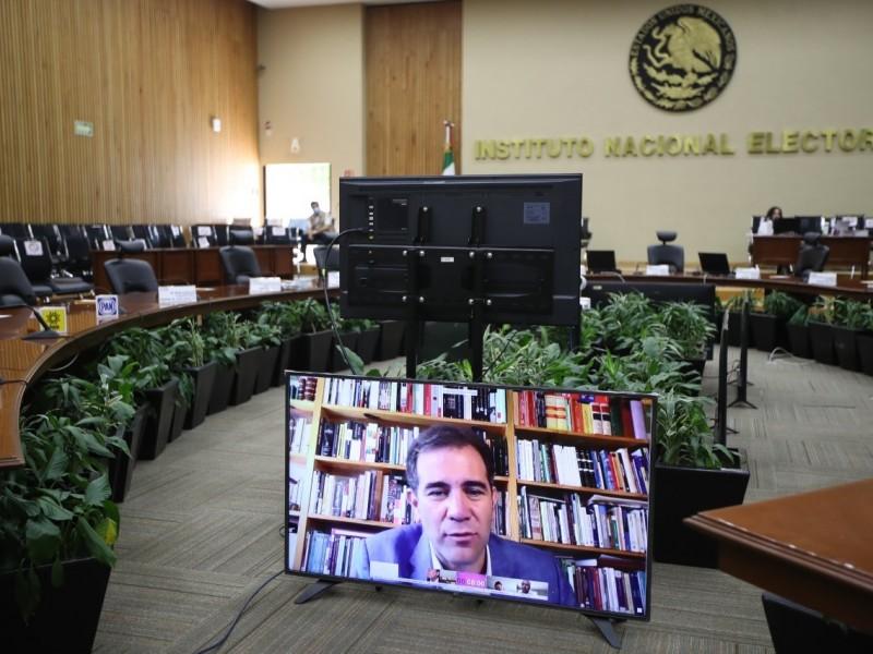 INE posterga elecciones por primera vez en la historia