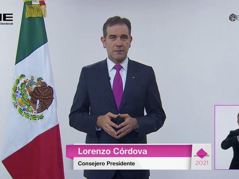 INE publica PREP de diputaciones federales