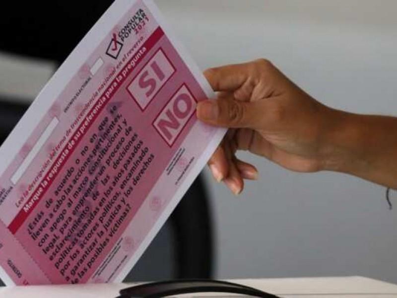 INE rechaza acusaciones de sabotaje a consulta popular