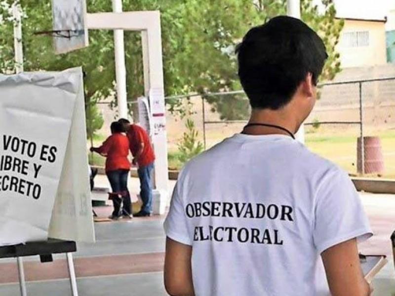 INE registra baja convocatoria de observadores ciudadanos