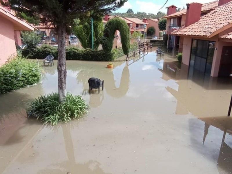 Informa comité técnico sobre la afectaciones generadas por la inundación.
